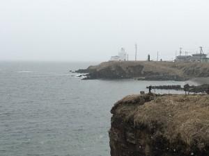 ここからわずか3.7キロ先が歯舞諸島の貝殻島。